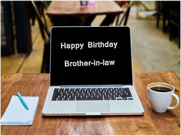 Happy birthday brother in law