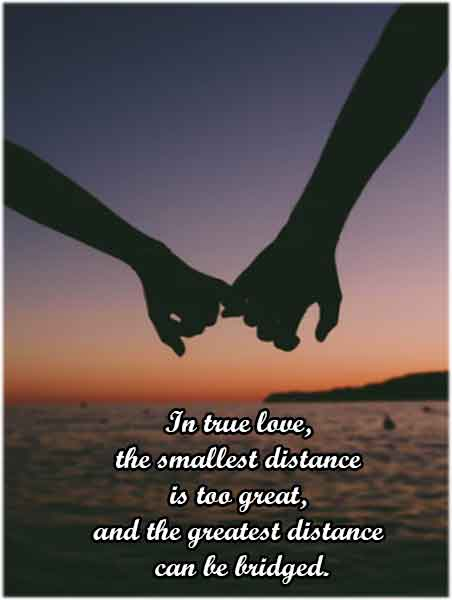 Cute and Deep Long-Distance Relationship Quotes