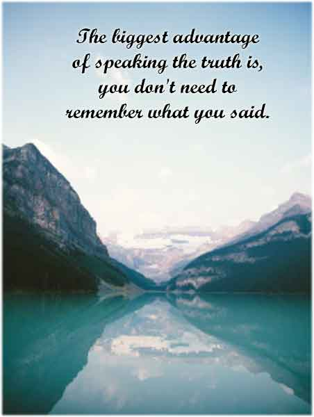 Quotes on Truth and Honesty