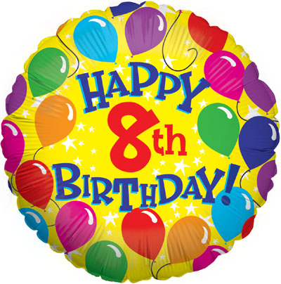 Happy 8th Birthday Wishes And Greetings