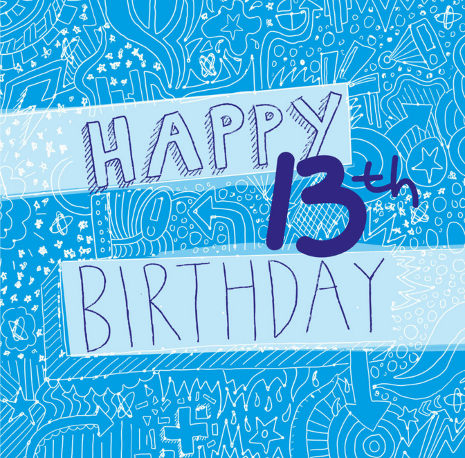 Happy 13th Birthday Wishes And Greetings Happy Birthday Lines – 13th Birthday Greetings