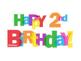 Happy 2nd birthday 2nd birthday wishes greetings happy birthday happy 2nd birthday wishes for babies m4hsunfo