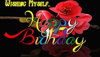 100 Happy Birthday To Myself Status