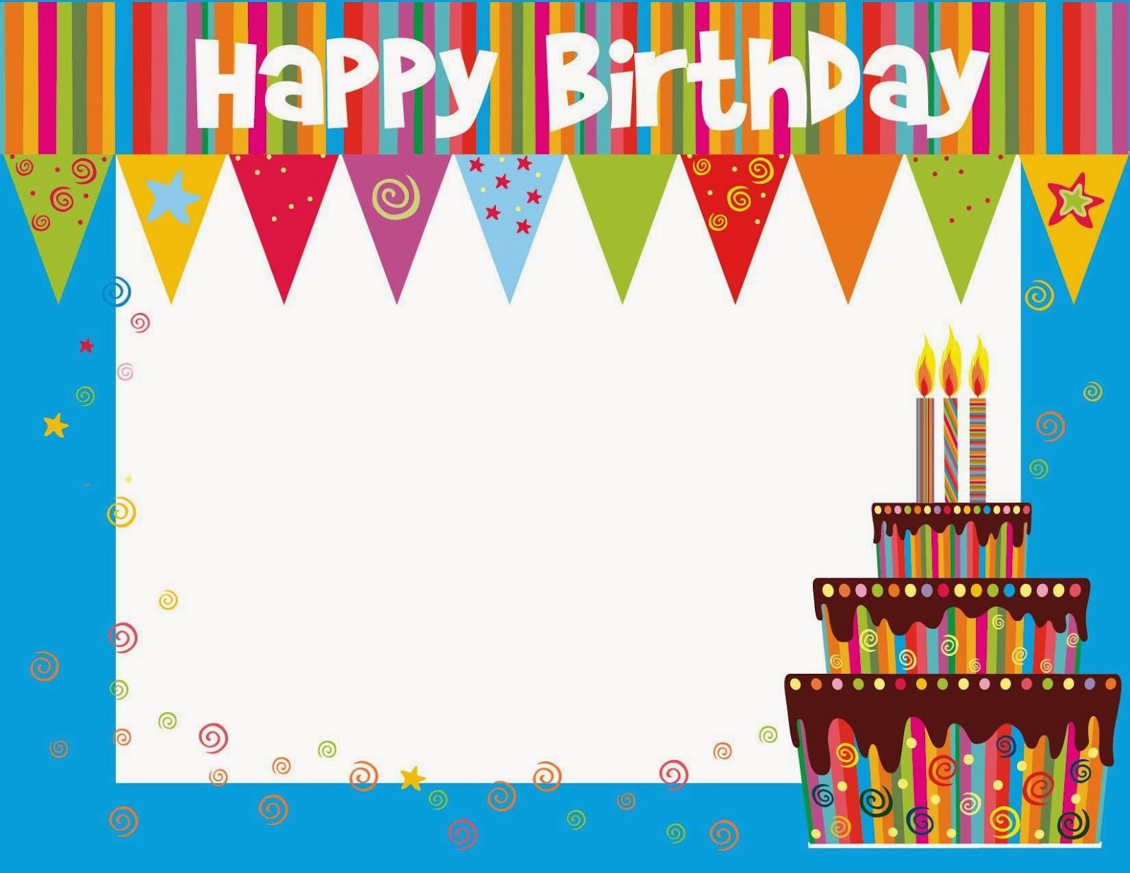 Free Printable Birthday Cards Ideas