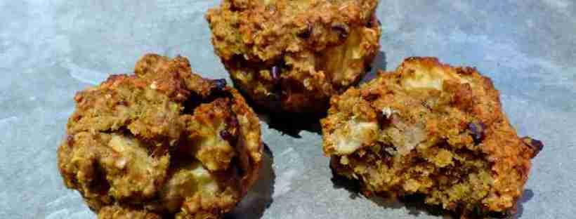 muffin pomme chocolat sans gluten