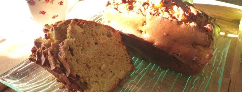 cake aux pommes sans gluten san huile san beurre