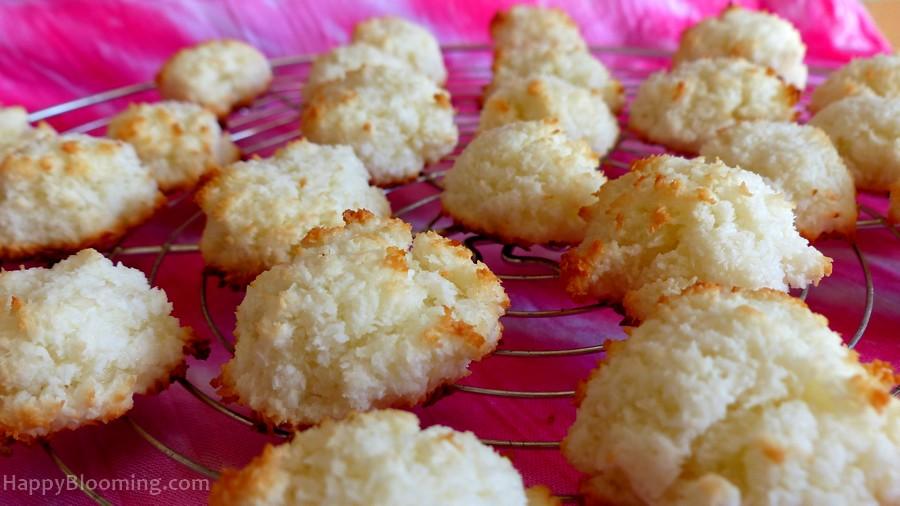 Macarons à la noix de coco : les meilleurs!