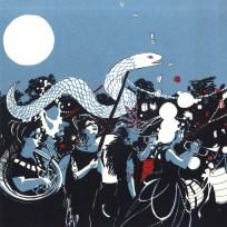 Lantern Parade. Poster. 3 colour screenprint. 2016