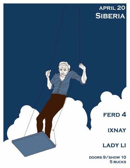 Ferd 4. Poster. 2018.
