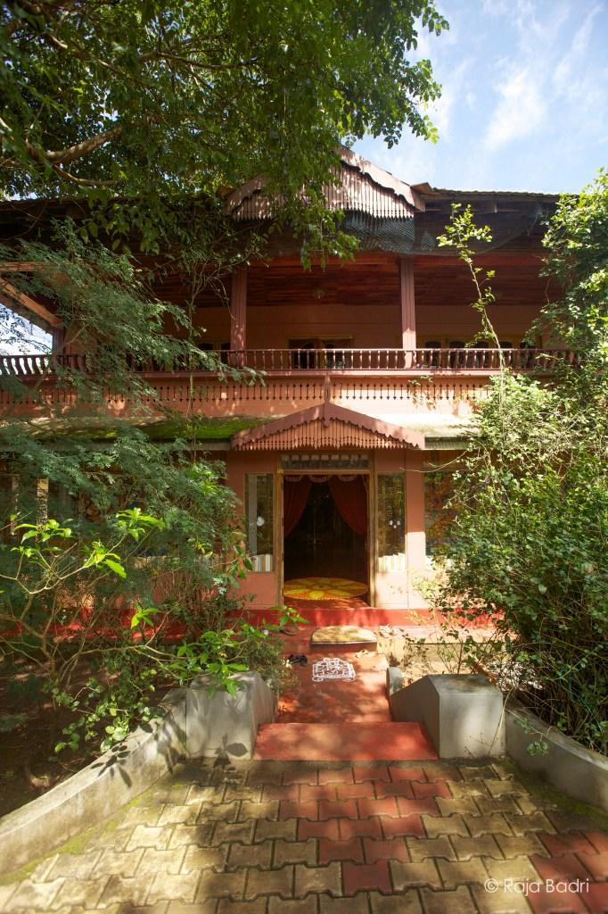 Main building of Ayurveda Yoga Villa