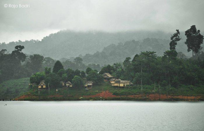 The 'orang asli' village