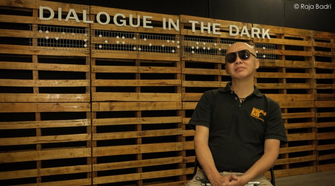 Mr Stevens Chan, Founder of Dialogue in the Dark Malaysia.