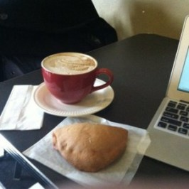 coffee and empanadas