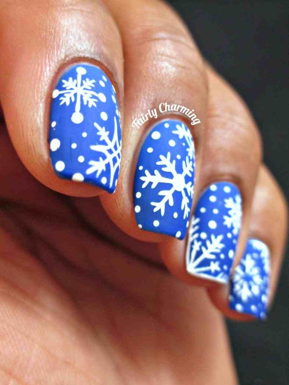 Christmas Acrylic Nail Designs 62 Manicure And Holiday