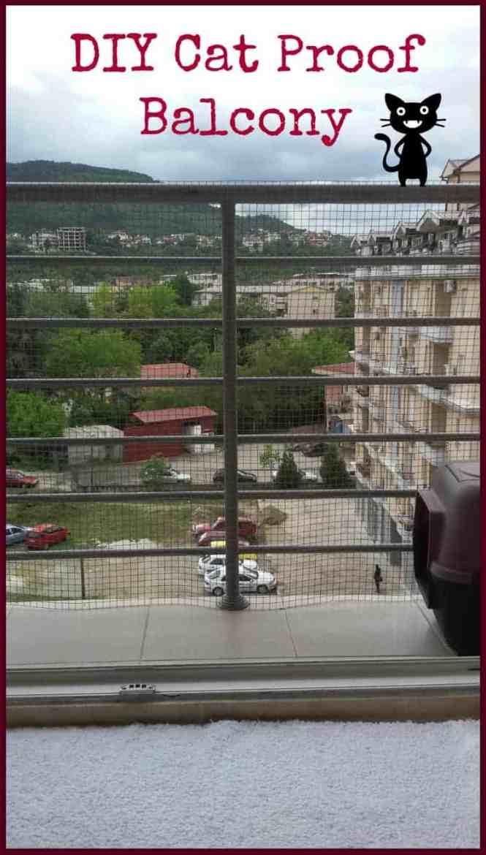 Cat Proof Balcony Easy Diy