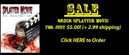 Splatter Movie SaleButton