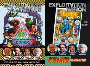 Exploitation Nation #6: Underground Comix (Two Covers!)