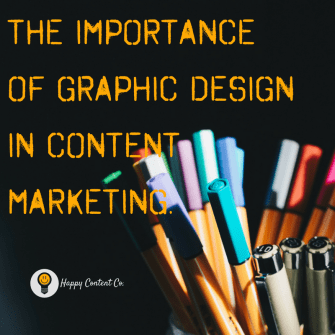 the importance of graphic design in content marketing