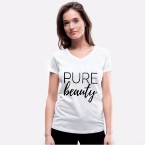WUNDERSHIRTs, T-Shirt, Aufdruck, gute Gedanken, pure beauty