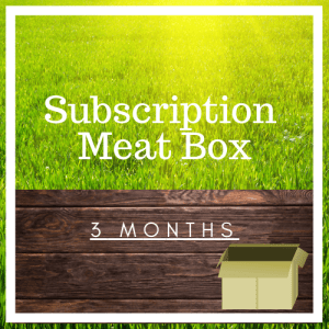 Subscription Meat Box