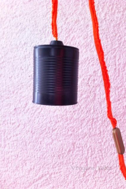 DIY lampe avec boîte de conserve-Vivyane Veka