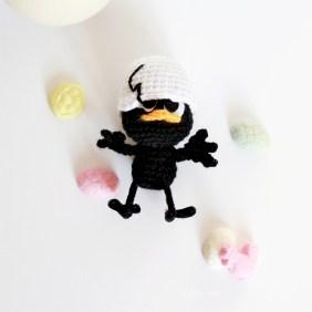 Calimero amigurumi-Calimero au crochet-3-Vivyane Veka