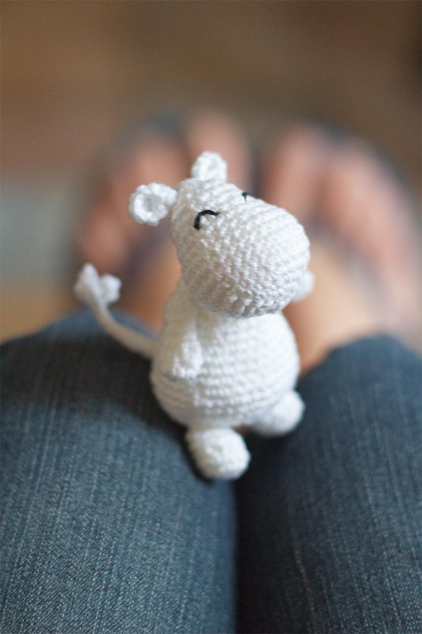 Moomin crochet ig