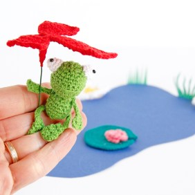 Tutoriel Grenouille au crochet