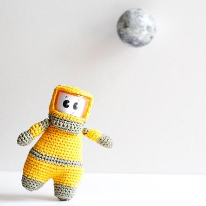 Cosmonaute au Crochet
