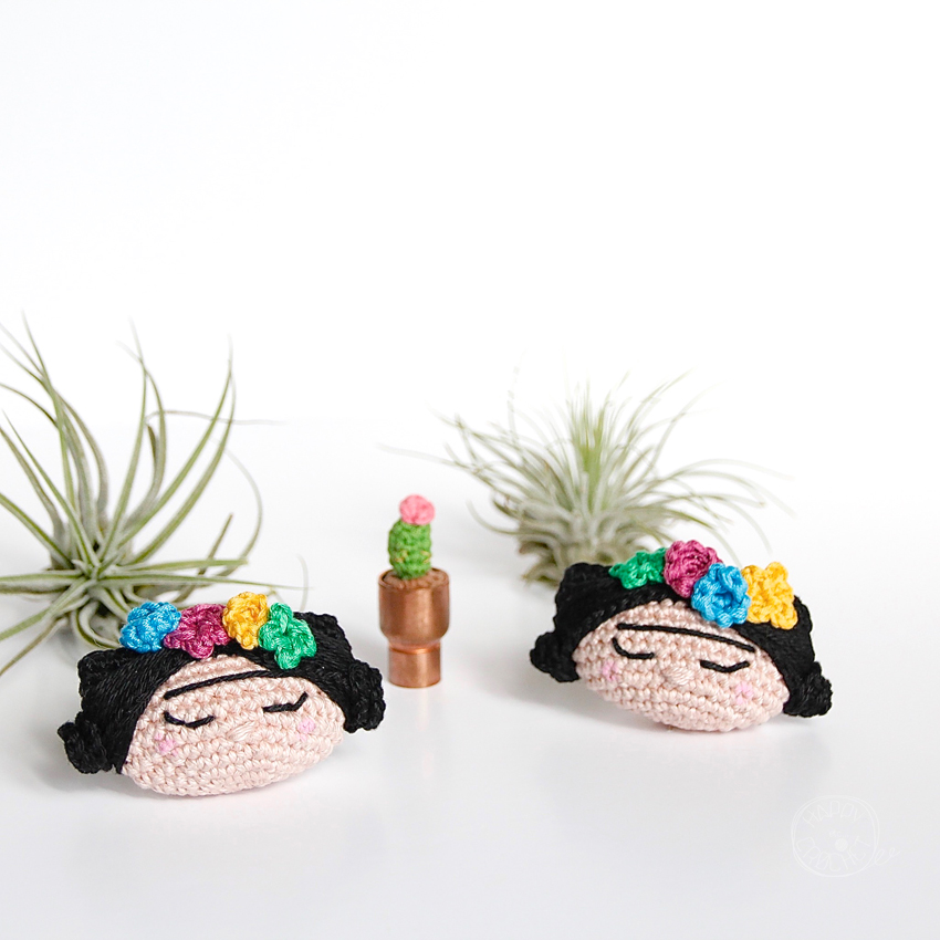 Tutoriel Frida Kahlo au Crochet