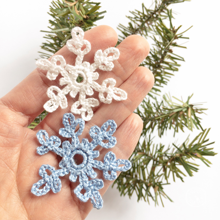 Tutoriel flocon de neige au crochet