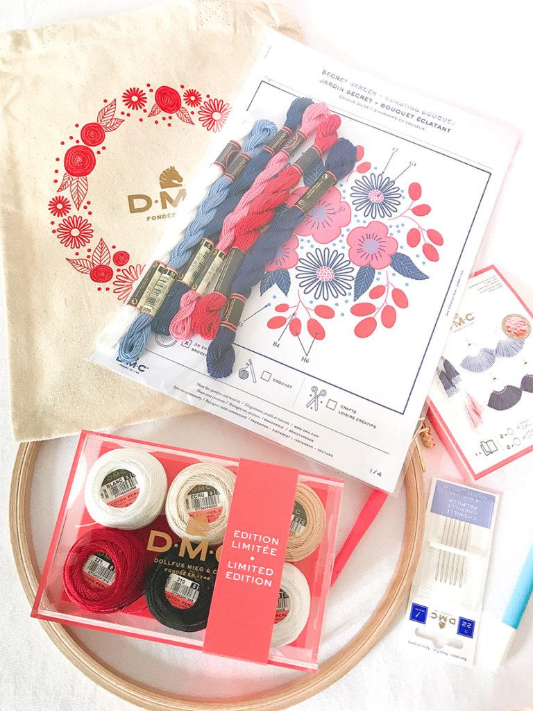Kit Broderie Coton Perle de DMC France