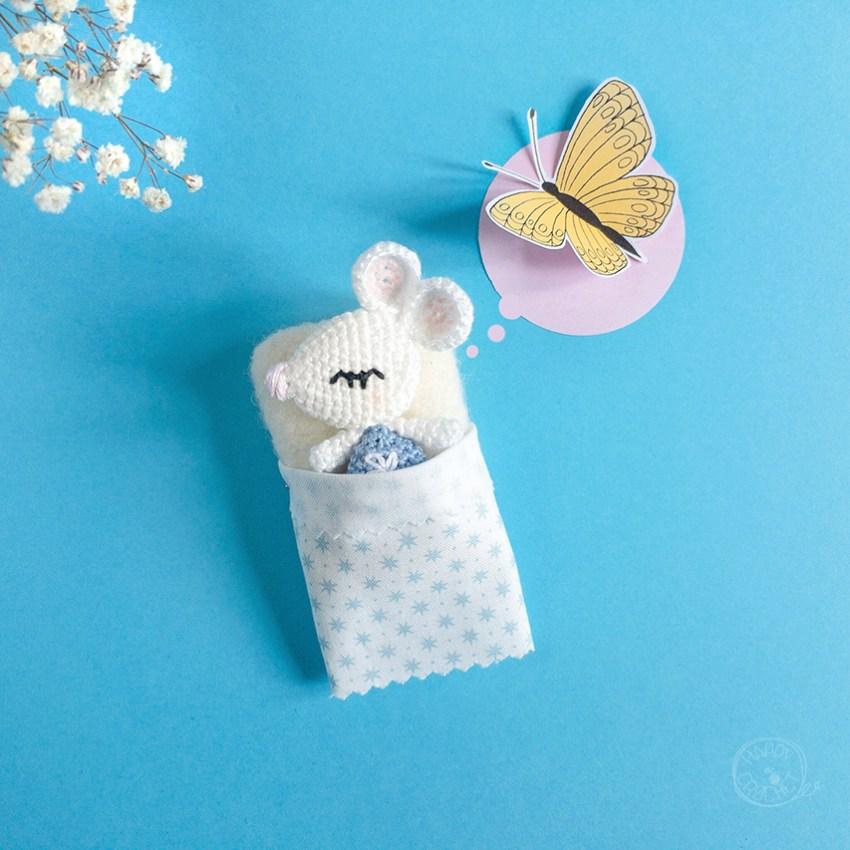 Amigurumi Souris Miniature Crochet