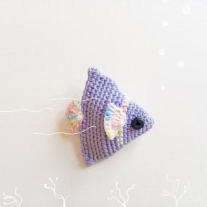 Tutoriel Amigurumi poisson au Crochet