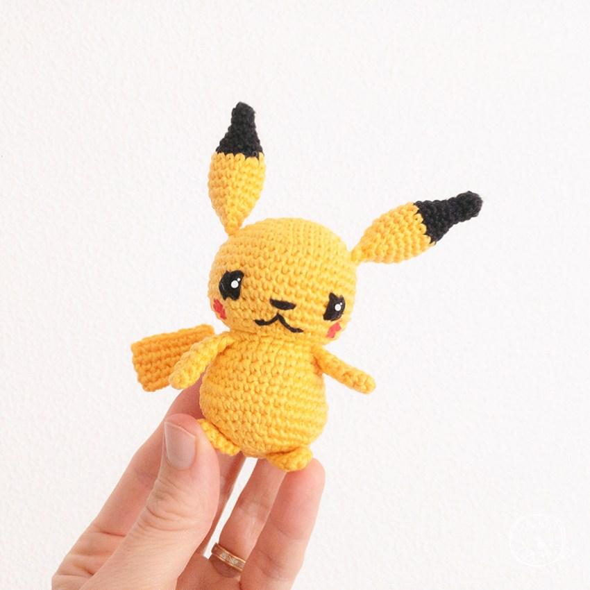 Amigurumi-Pikachu-au-Crochet