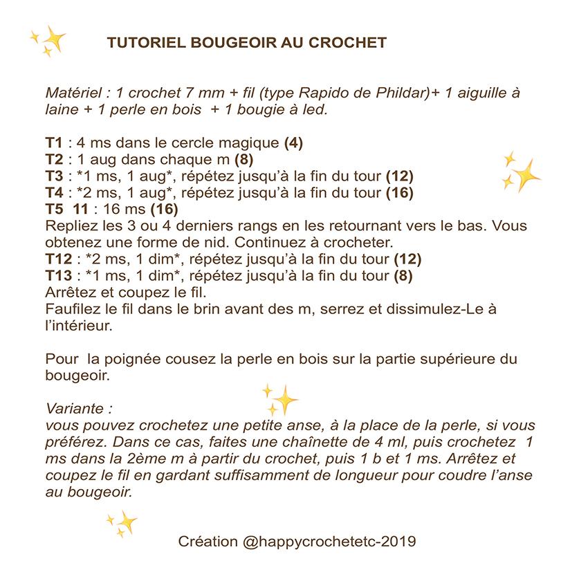 Tutoriel-Bougeoir-crochet par Happy Crochet Etc