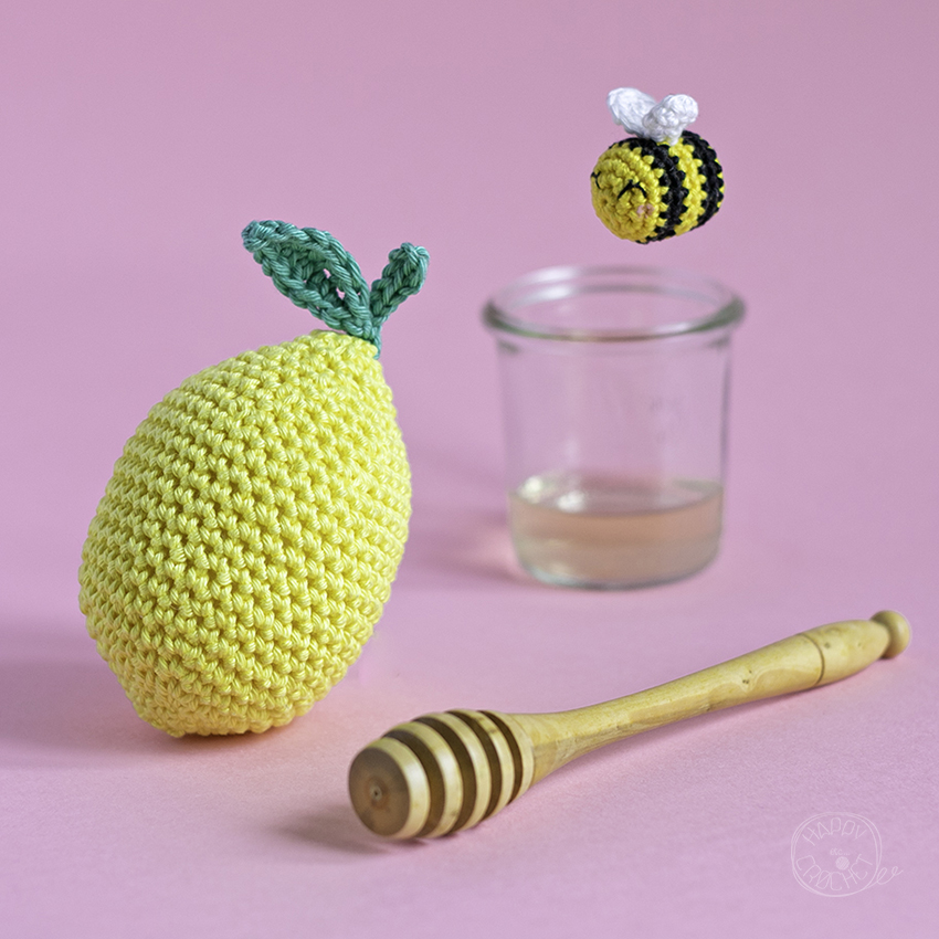 Tutoriel Citron Crochet • Crochet Lemon Tutorial