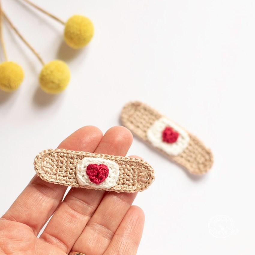 Tutoriel Pansement au Crochet par Happy Crochet Etc