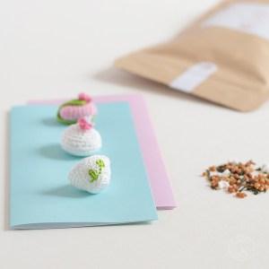 Japanese Crochet Food - Crochet Japonais