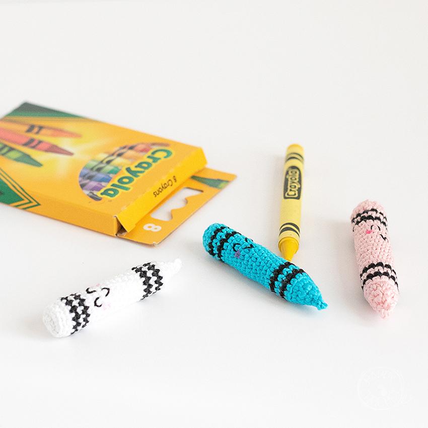 Crayons Crayola au Crochet