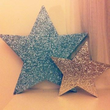 instagram déco étoiles paillettes