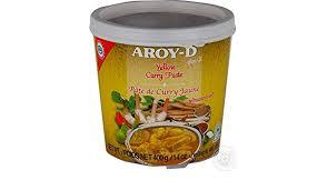 Pâte de curry jaune