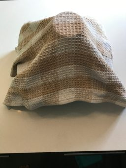 cover with a towel.
