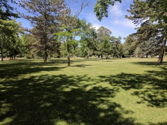 Gregory Park has acres of open green spaces.