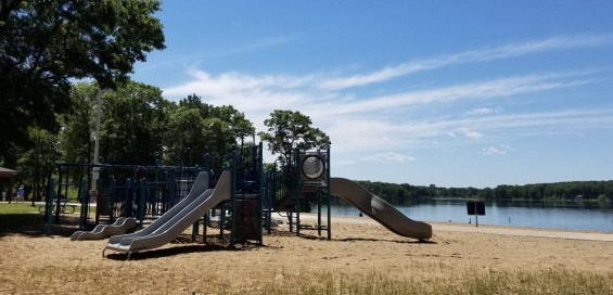 For the kids that don't want to get wet, but want to remain active, this park has you covered.