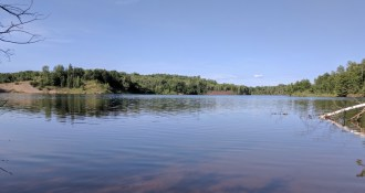 You can not compete with the views at Cuyuna.