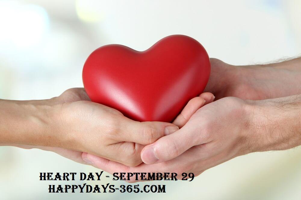 World Heart Day – September 29, 2019