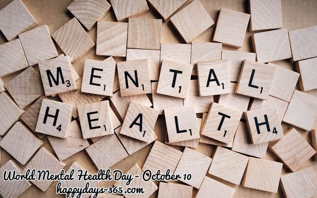 World Mental Health Day – October 10, 2019