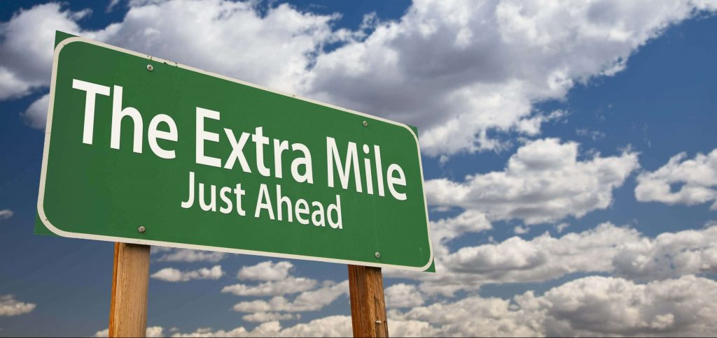 Extra Mile Day 2017 - November 1