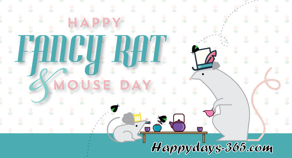Fancy Rat and Mouse Day – November 12, 2019